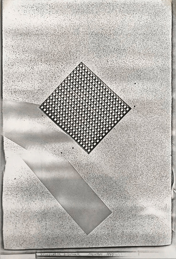 Bruno MUNARI - Photo - Xerografia Originale, 1967