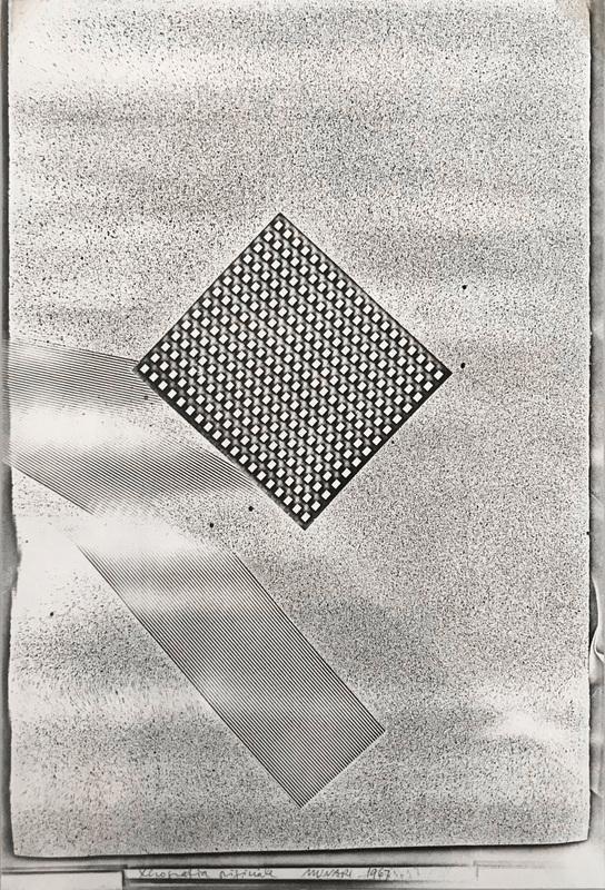 Bruno MUNARI - Fotografia - Xerografia Originale, 1967