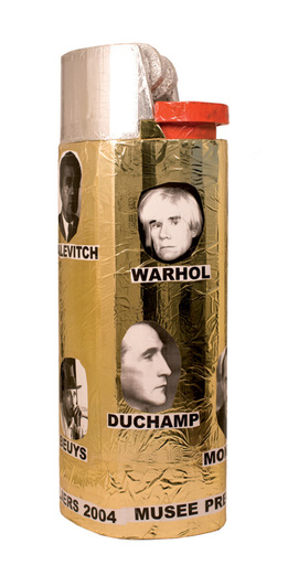 Thomas HIRSCHHORN - Sculpture-Volume - Lighter