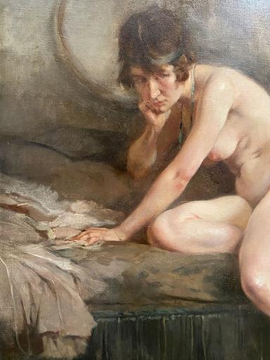 Jean-Léon GOUWELOOS - Pintura - La boudeuse
