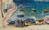 Moïse KISLING - Painting - Le Port de Portofino