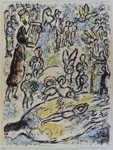 Marc CHAGALL - Estampe-Multiple - The Magic Flute II