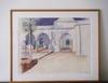 Fatiha ABELLACHE - Drawing-Watercolor - Un soir d'été à la Villa Abd El Tif I