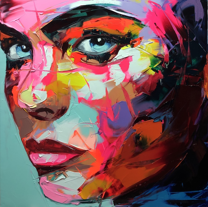 Françoise NIELLY - Painting - Appoline