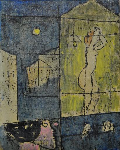 Franco ROGNONI - Pintura - Interno Esterno