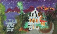 Pablo PICASSO - Painting - Maison à Juan Les Pins