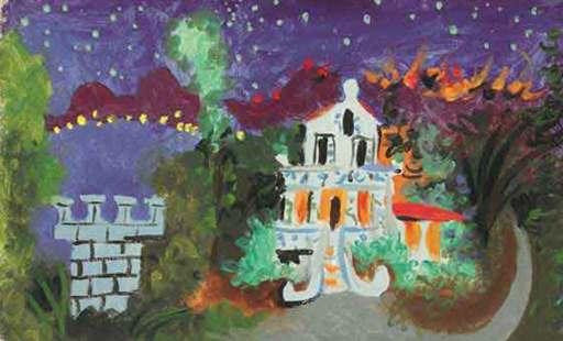 Pablo PICASSO - Pittura - Maison à Juan Les Pins