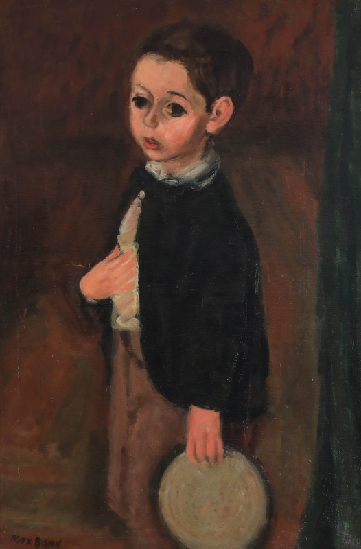 Max BAND - Painting - Young Boy