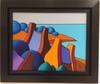 Gérard NEYB - Painting - Les 3 Maisons