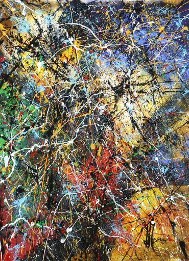 Jean-Jacques MARIE - Gemälde - Composition n°344