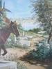 Guy THOMAS - Peinture - La chasse au faucon.