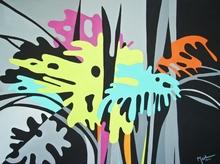 Brigitte THONHAUSER-MERK - Pintura - Philodendron