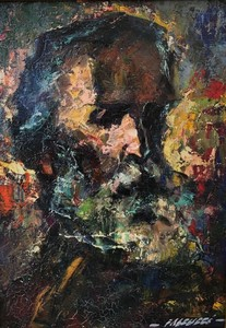 Robert FALCUCCI - Painting - César