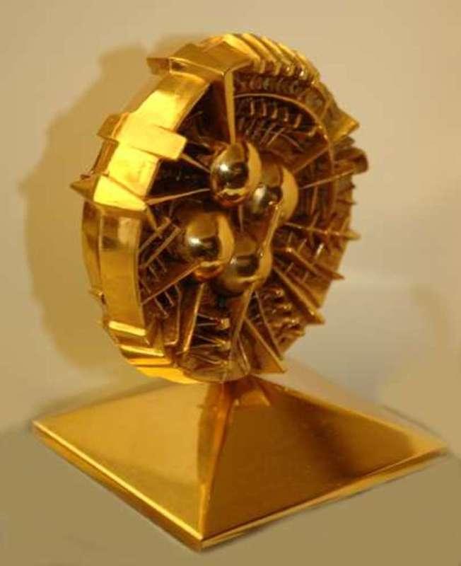 Arnaldo POMODORO - Sculpture-Volume - Disco