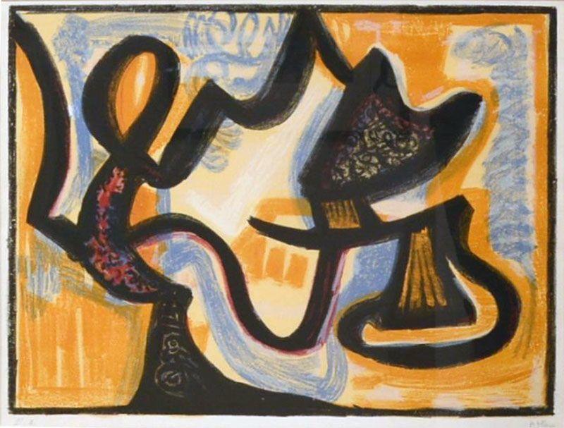 Jean-Michel ATLAN - Print-Multiple - Le simoun