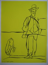 Valerio ADAMI - Print-Multiple - SÉRIGRAPHIE SIGNÉE CRAYON NUM/150 HANDSIGNED NUMB SILKSCREEN