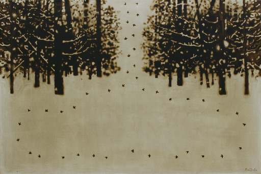 Rinat VOLIGAMSI - Painting - In the Forest
