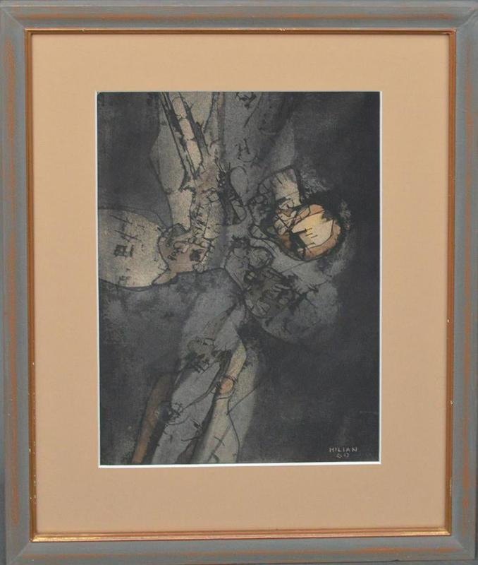 Raúl MILIAN - Painting - Abstract
