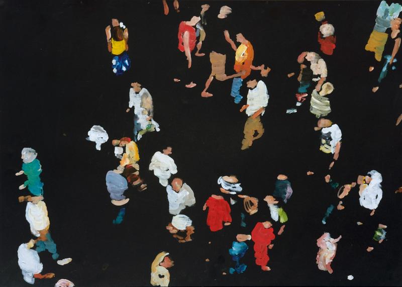 Daniele GALLIANO - Pittura - Come in cielo cosi in Terra 3
