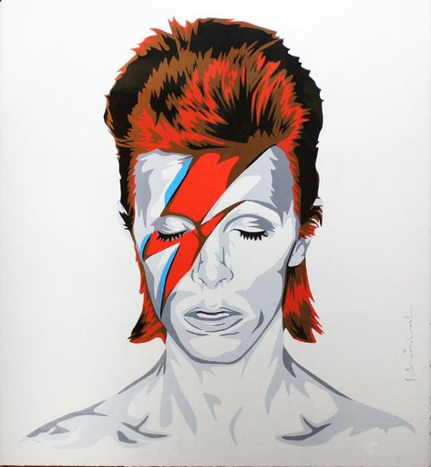 MR BRAINWASH - Estampe-Multiple - Bowie
