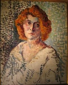 Maximilien LUCE, portrait de femme