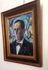 Eduardo PISANO - Pintura - Portrait d'homme - Retrato o  bien autorretrato?