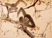 陈文希 - 绘画 - Bee with Monkeys