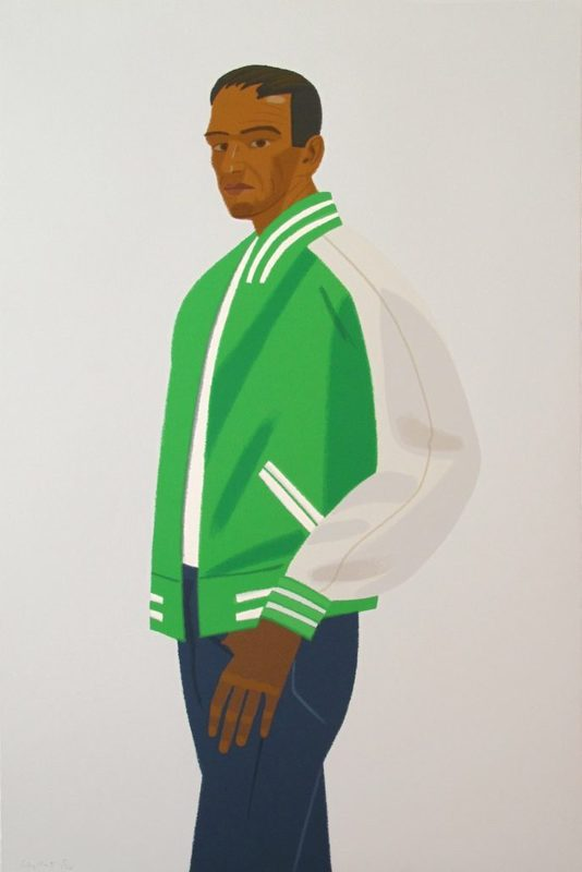 Alex KATZ - Print-Multiple - Green Jacket (from Alex & Ada portfolio)