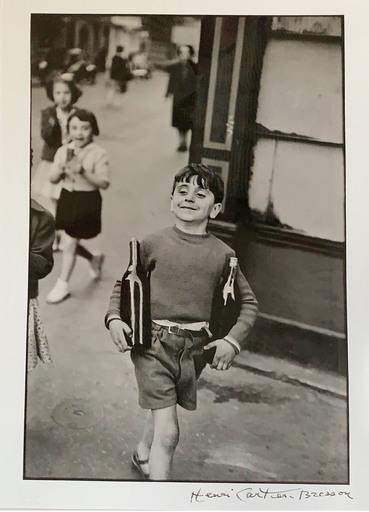 Henri CARTIER-BRESSON - Fotografia - Rue Mouffetard, Paris