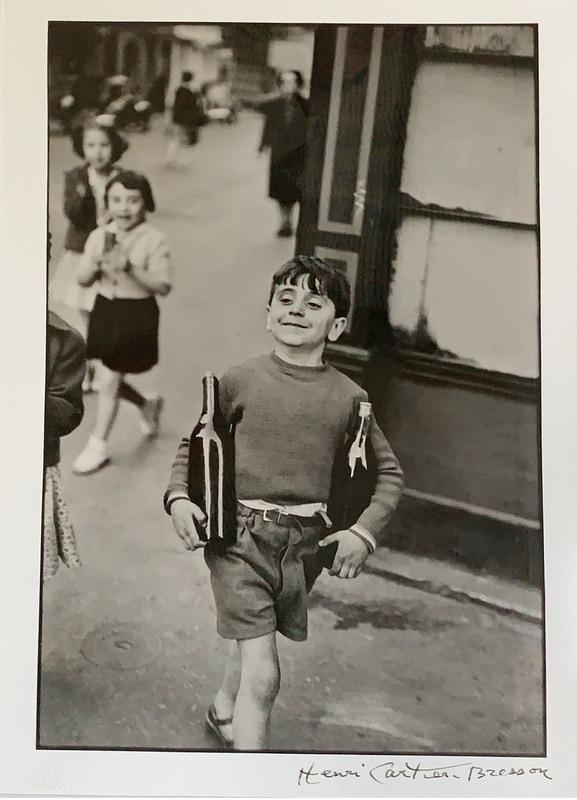 Henri CARTIER-BRESSON - Photography - Rue Mouffetard, Paris