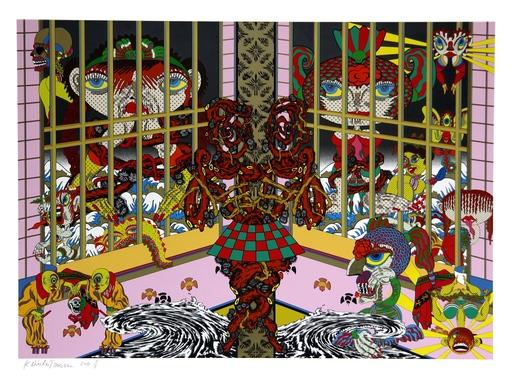 Keiichi TANAAMI - Stampa-Multiplo - Lost and Wandering Bridge Series No. 9