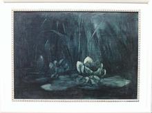 "Adrianus Johannes Jacobus DE WINTER - Pintura - ""Water Lily"" by Adrianus de Winter, ca 1920"