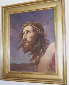 Rudolf I YELIN - Painting - Christus