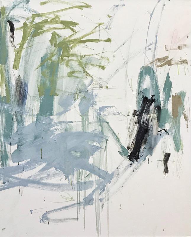 Manuela Karin KNAUT - 绘画 - Delicate interventions