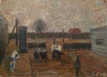 Esther CARP (1897-1970) - Landscape