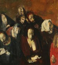 Corneliu BABA - Painting - The Panics