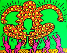 Keith HARING (1958-1990) - Fertility Suite, No. 5