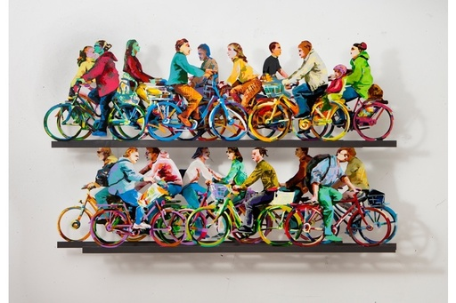 David GERSTEIN - Sculpture-Volume - City Riders