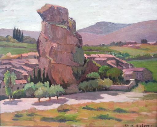 Louis Georges ALATERRE - Painting - Alba la Romaine