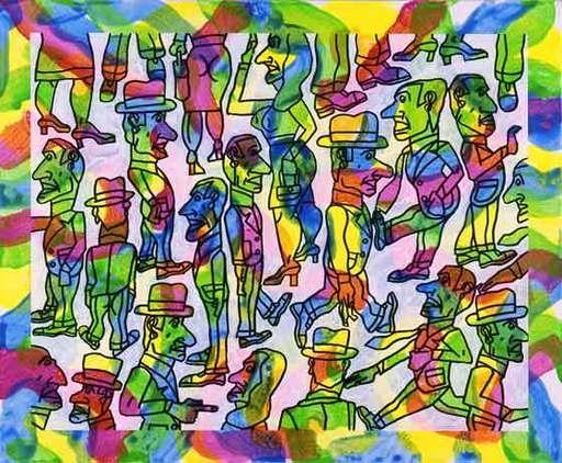 Antonio SEGUI - Painting - Tecnicolor