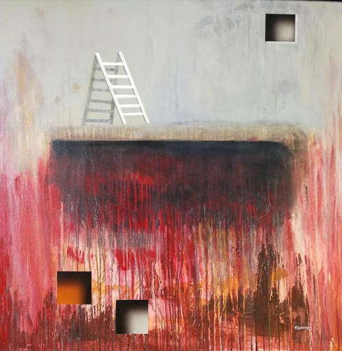 Arturo CARRIÓN - Pittura - Looking for the heights