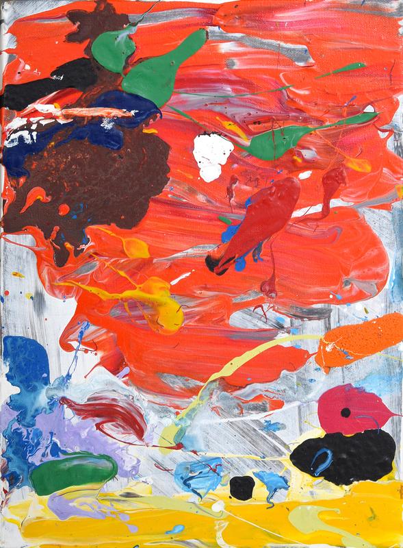 John SEERY - Pittura - John Seery Abstract Painting