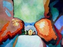 Claude THIEL DE NEUVILLE - Peinture - Passion isotherms n°18
