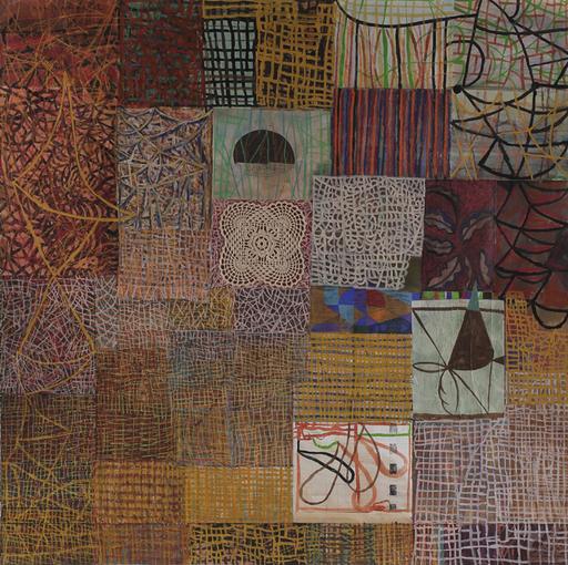 Amar DAWOD - Pintura - The Ta-Sin of the Circle II