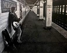 JEF AÉROSOL - Pittura - Morgan avenue Subway station