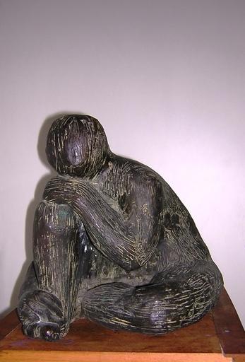 Giuseppe GORNI - Escultura - Ragazzo seduto