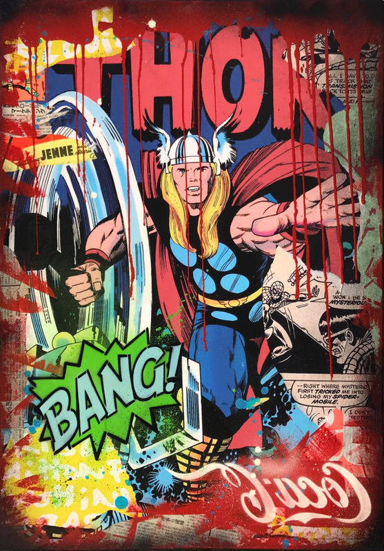ALESSIO-B - Pintura - Thor Bang!