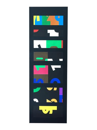 Mateo MANAURE - Gemälde - Columna Policromada