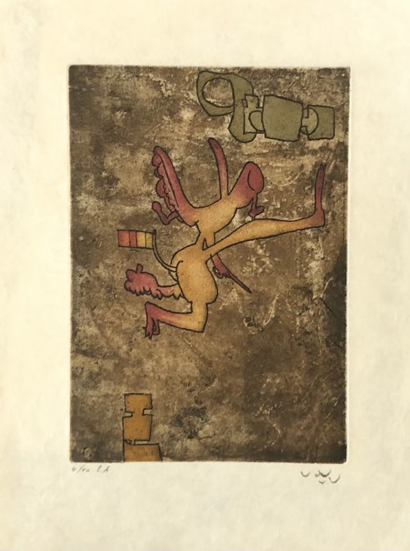 Roberto MATTA - Print-Multiple - Sans titre