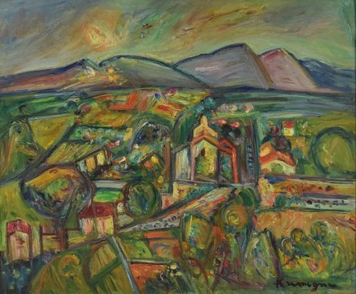 Pinchus KREMEGNE - Painting - Les Capucins à Céret